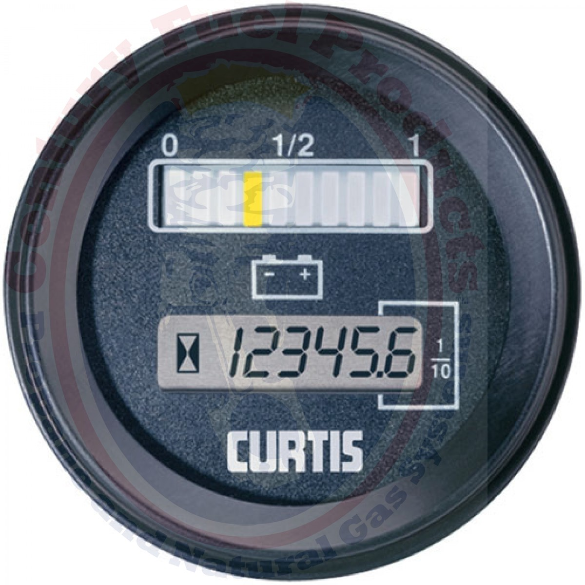 7 2 Volt Hour Meters : Rb bcj v with hour meter and lockout bdi gauge