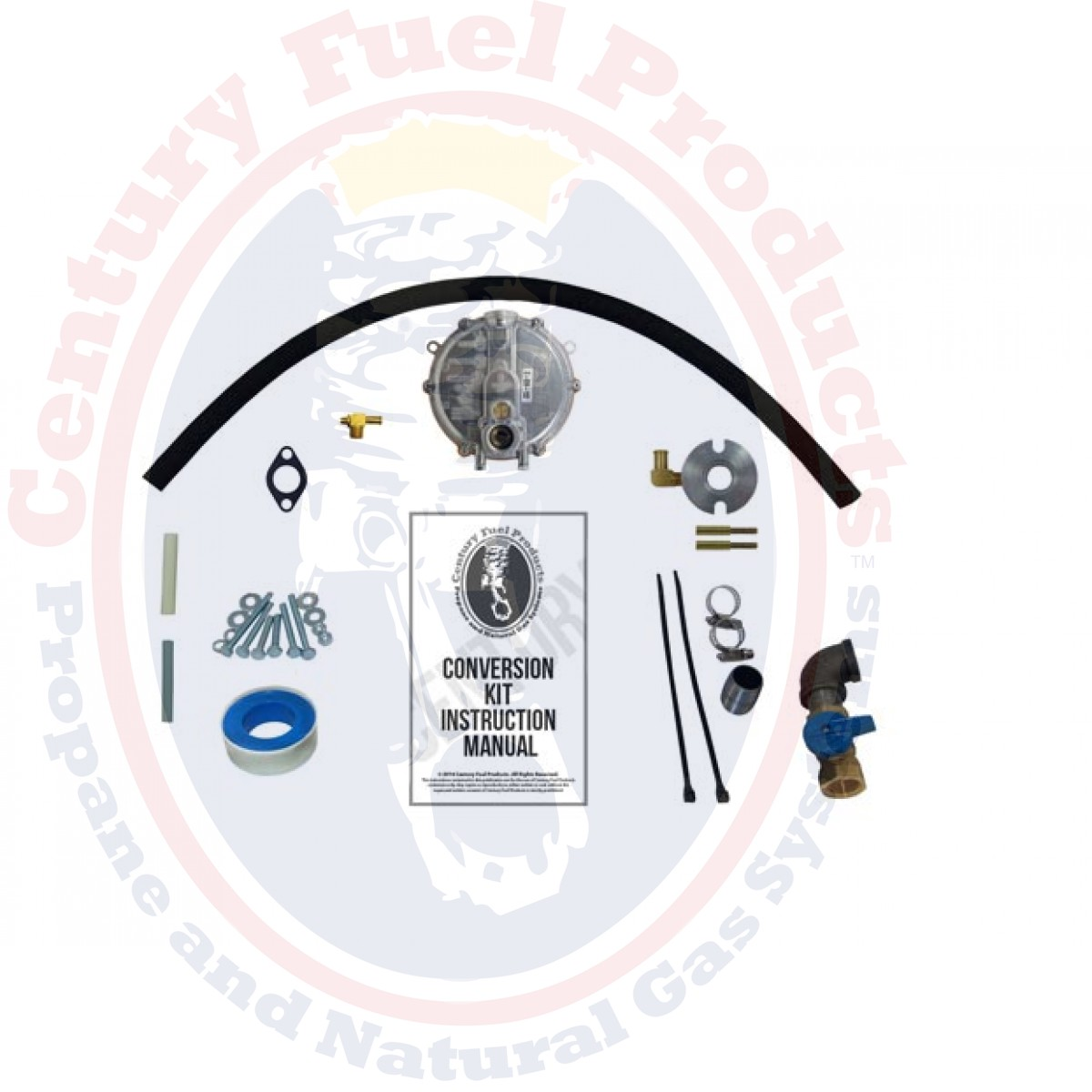Honda EU2500 HARMONY Natural Gas Or Low Pressure Propane Conversion (Dual  Fuel) Kit