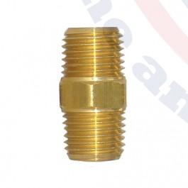 FIT1/4-09 Brass Nipple Fitting