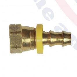 FIT3/8-11 Pushlock Brass Fitting