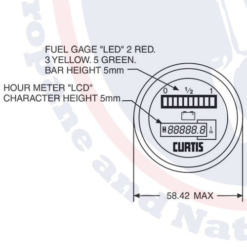 802rb3648bn With Hour Meter And Lockout Bdi Gauge