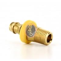 FIT1/4-18 Nipple Brass Fitting