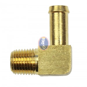 "Brass Fitting 1/4"" pipe x 3/8"" hose"