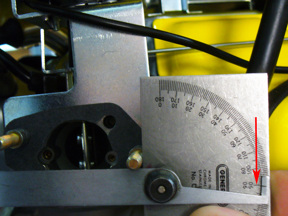 Measuring Center to Center Angle