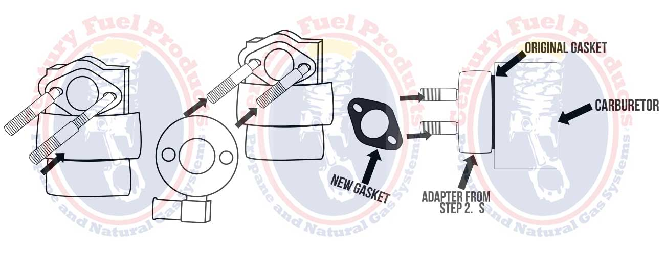 Generator Natural Gas Conversion Kits Natural Gas Carburetor Kits